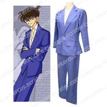 Detective Conan Kud�u Shinichi Cosplay Costume any size