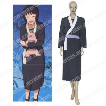 Naruto Black And White Shizune Cosplay Costume  any size