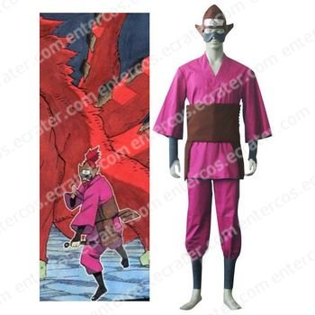 Naruto Four-Tailed Monkey Cosplay Costume any size