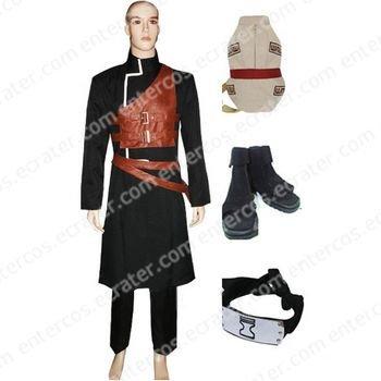 Naruto Gaara Halloween Cosplay Costume Set any size