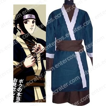 Naruto Haku Ha Halloween Cosplay Costume any size
