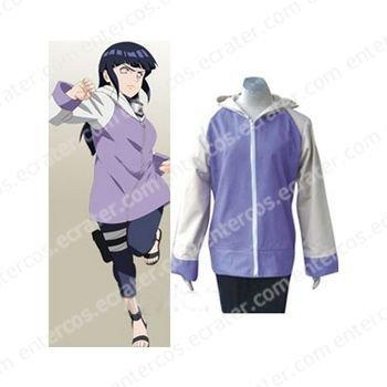 Naruto Hyuga Hinata Jacket Cosplay Costume  any size