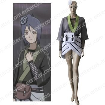 Naruto Konan Halloween Cosplay Costume any size