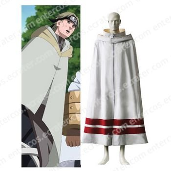 Naruto Leaf Village Cloak For Men Cosplay Costume any size