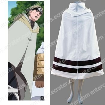 Naruto Leaf Village Cloak For Men Cosplay Costume(dark red) any size