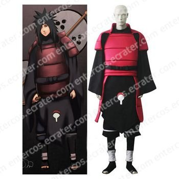Naruto Madara Uchiha Cosplay Costume any size