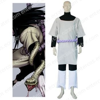 Naruto Orochimaru Cosplay Costume  any size