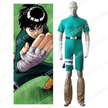 Naruto Rock Lee Cosplay Costume any size