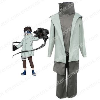 Naruto Shino Cosplay Costume any size