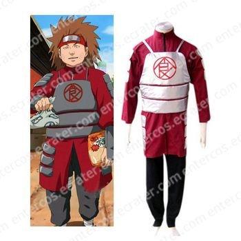 Naruto Shippuden Akimichi Chouji Halloween Cosplay Costume   any size