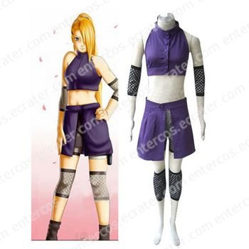 Naruto Shippuden Ino Yamanaka Halloween Cosplay Costume any size