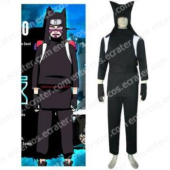 Naruto Shippuden Kankuro Halloween Cosplay Costume  any size