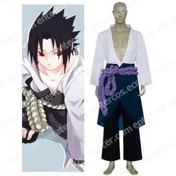Naruto Uchiha Sasuke Halloween Cosplay Costume any size