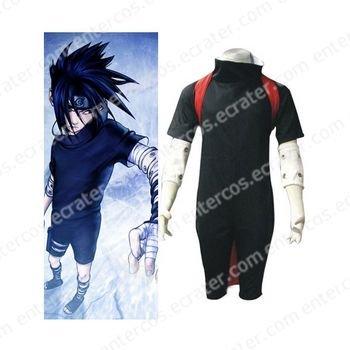 Naruto Uchiha Sasuke Halloween Cosplay Costume 2 any size