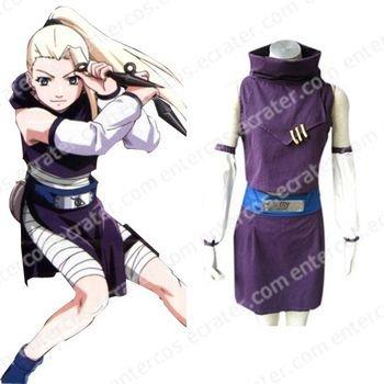 Naruto Yamanaka Ino Halloween Costume Cosplay any size