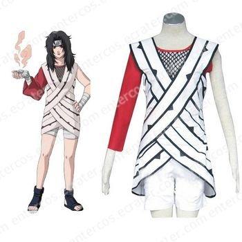 Naruto Yuuhi Kurenai Halloween Cosplay Costume any size