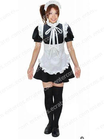 Negima! Magister Negi Magi Evangeli Shinentai Maid Cosplay Costume any size