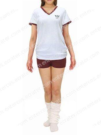 Negima! Magister Negi Magi Mahoro Gakuen Gym Uniform Cosplay Costume any size