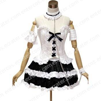 Neon Genesis Evangelion Ayanami GothLoli Cosplay Costume any size