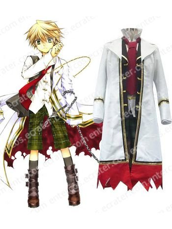 Pandora Hearts Oz Vessalius With Over Coat Cosplay Costume  any size