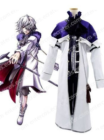 Pandora Hearts Xerxes Break Cosplay Costume any size