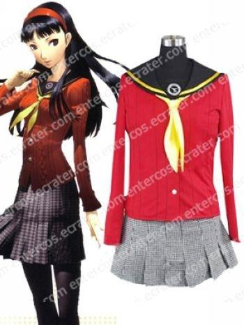 Shin Megami Tensei Persona 4 Yukiko Amagi Cosplay Costume any size
