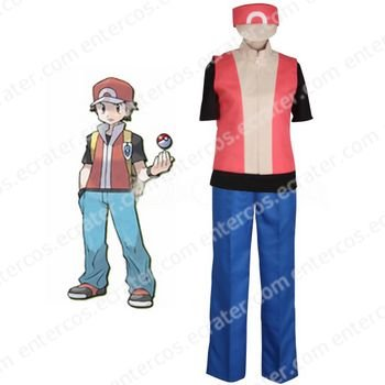 Pokémon Ash Ketchum Cosplay Costume  any size