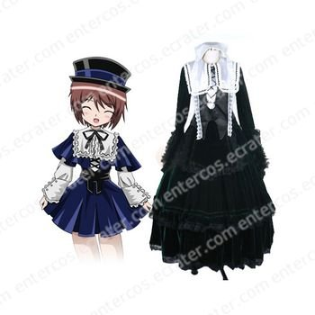 Rozen Maiden Jade Stone Cosplay Costume any size
