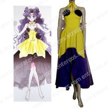 Sailor Moon Luna Human Cosplay Costume  any size