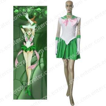 Sailor Moon Sailor Jupiter Makoto Kino Cosplay Costume   any size