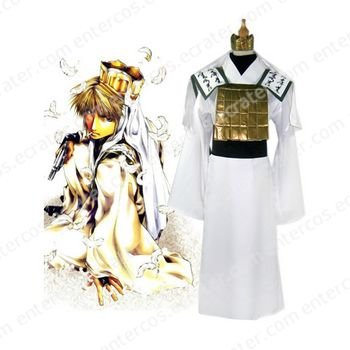 Saiyuki Genjyo Sanzo Cosplay Costume  any size