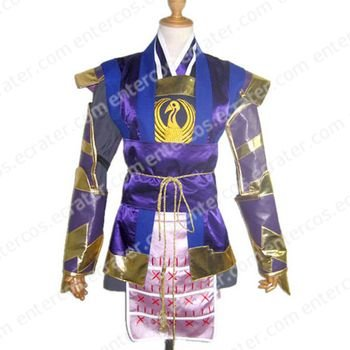 Samurai Warriors Ranmaru Mori Cosplay Costume any size