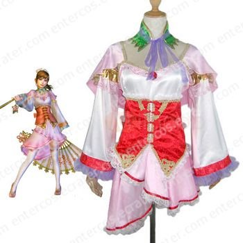 Dynasty Warriors 4 Da Qiao Cosplay Costume any size