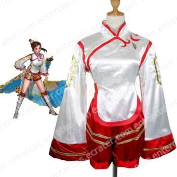Dynasty Warriors 4 Xiao Qiao Cosplay Costume  any size