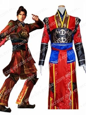 Dynasty Warriors Ryou-tou Cosplay Costume any size