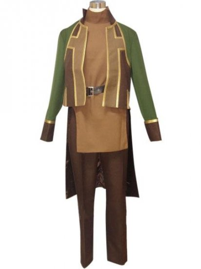 Suikoden Lucia Cosplay Costume  any size