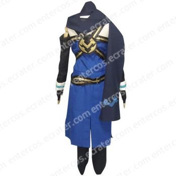 Tales of Symphonia Emil Castagnier Halloween Cosplay Costume   any size