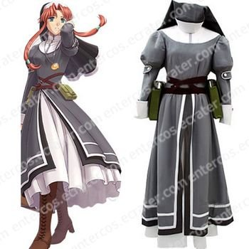 The Legend of Heroes  Sora no Kiseki Ries Argent Cosplay Costume  any size