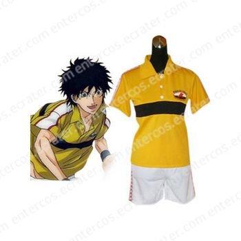 Prince Of Tennis Rikkai Junior High School Summer Uniform Cosplay Costume any size