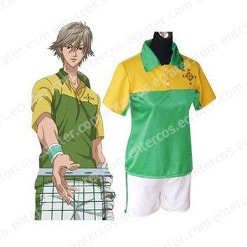 Prince Of Tennis Shitenhoji Middle School Summer Uniform Cosplay Costume any size