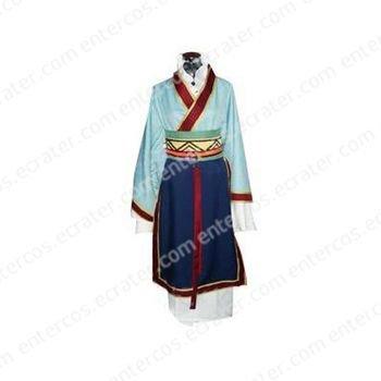 The Story of Saiunkoku Shurei Hong Cosplay Costume  any size