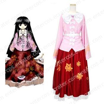 Imperishable Night Kaguya Houraisan Cosplay Costume any size