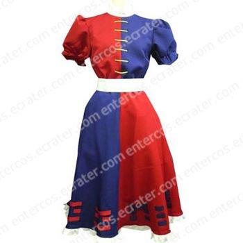 Phantasmagoria of Dim. Dream Eirin Cosplay Costume  any size