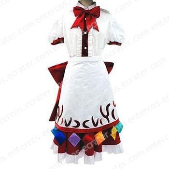 Phantasmagoria of Dim. Dream Tenshi Hinanai Cosplay Costume   any size