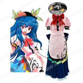 Scarlet Weather Rhapsody Tenshi Hinanai Cosplay Costume  any size