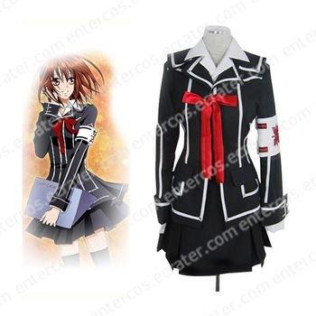 Vampire Knight Day Class girl Kurosu Yuuki Halloween Cosplay Costume  any size