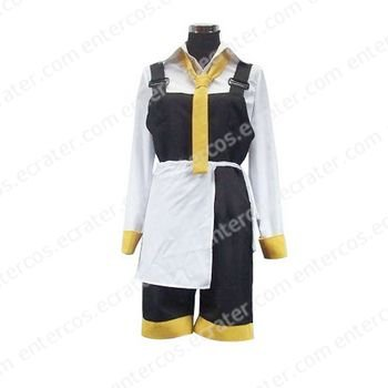 Da Capo Yellow And White Cosplay Costume any size