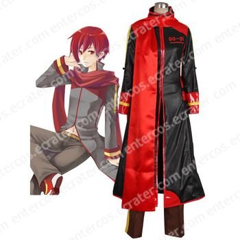 Vocaloid Akaito Cosplay Costume  any size