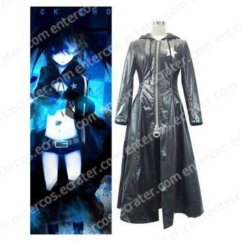 Vocaloid Black Hatsune Miku Halloween Cosplay Costume any size