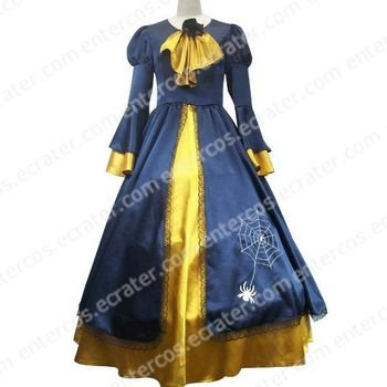 Vocaloid Kagamine Rin Blue And Yellow Cosplay Costume any size